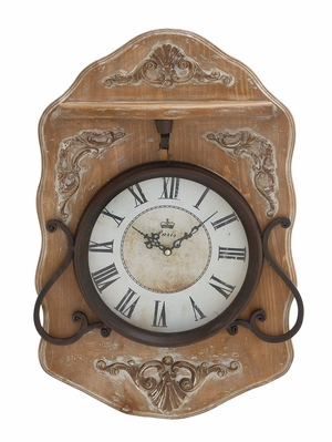Creative Manhattan's Antique Wall Clock Brand Benzara