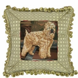 Creative Styled Fancy Wheaton Petit Point Pillow by 123 Creations
