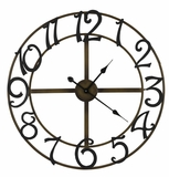 Creative Styled Fascinating La Salle Clock by Cooper Classics