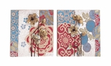 Creative Styled Metal Wall Decor 2 Assorted by Woodland Import