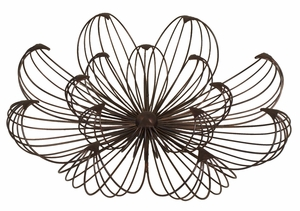 Creatively Designed Small Floral Wall Art by Three Hands Corp
