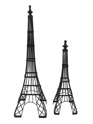 Creatively Styled Set of Two Eiffel Tower Trellis by Three Hands Corp