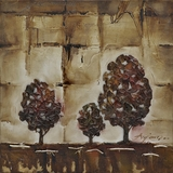 Creatively Styled Tree Cluster I Classy Painting by Yosemite Home Decor