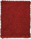 Crimson Silky Shag 5' x 8' Brand Anji Mountain by Anji Mountain