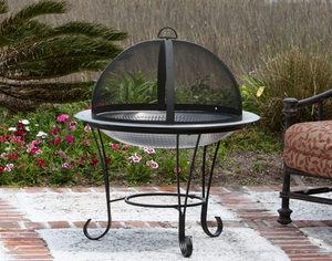 Crotone Cocktail Fire Pit, Robust And Delightful Heating Accessory by Well Travel Living
