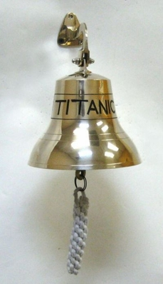 Customary Styled Attractive Brass Bell Titanic by IOTC