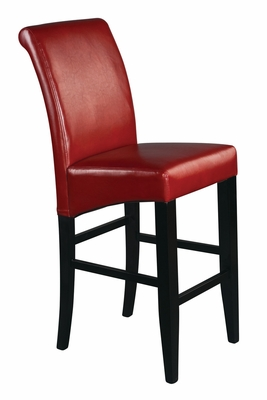 Customary Styled Attractive Parsons Barstool by Office Star
