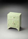 Customary Styled Bone Inlay Accent Chest by Butler Specialty