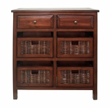 Customary Styled Cabinet with Drawers by Three Hands Corp