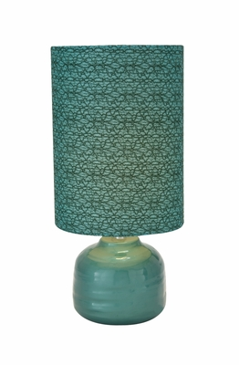 Customary Styled Classy Ceramic Table Lamp by Woodland Import