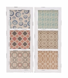 Customary Styled Fancy Wood Wall Panel 2 Assorted by Woodland Import