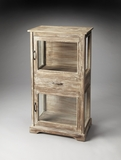 Customary Styled Hardin Rustic Display Cabinet by Butler Specialty
