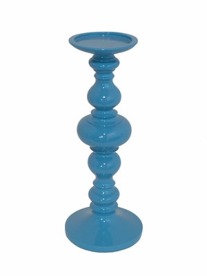 Customary Styled Large Resin Candle Holder by Three Hands Corp