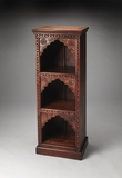 Customary Styled Mihrab Solid Wood Bookcase by Butler Specialty