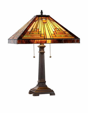 Customary Tiffany Styled Wonderful Table Lamp by Chloe Lighting