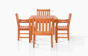 Danis Outdoor Dining Set by Vifah