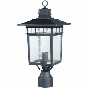Dante Collection Classy Styled 1 Light Exterior Light series in Oil Rubbed Bronze by Yosemite Home Decor