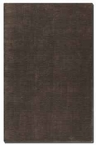 """Danube Dark Lava 16"""" Viscose Rug with Charcoal and Brown Brand Uttermost"""