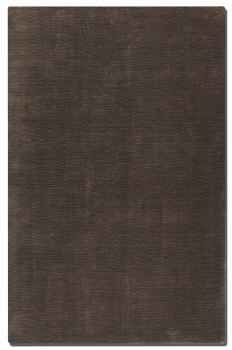 "Danube Dark Lava 16"" Viscose Rug with Charcoal and Brown Brand Uttermost"