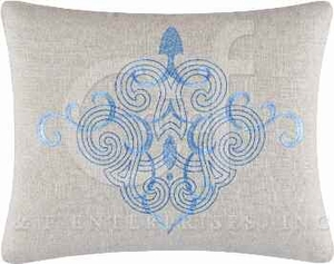 Daphne Embroidered Pillow 14 x18 Inches Brand C&F