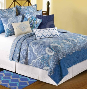 Daphne Oversized Queen Quilt with 100% Cotton and Cotton Fill Brand C&F