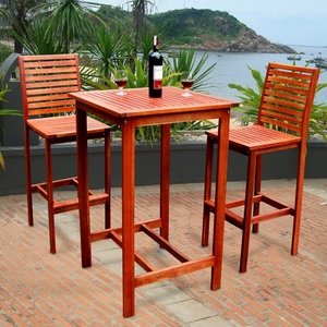 Dartmoor Bar Dining Set by Vifah