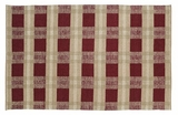 Dashing Pattern Everson Wool & Cotton Rug Rect by VHC Brands