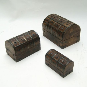 Debrecen Nested Pirate Chest Set, Fetching And Long-lasting Home Decor Brand IOTC