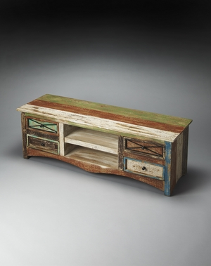 Decatur Recycled Wood Entertainment Console by Butler Specialty