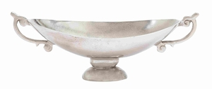 Decorative Aluminum Bowl for Modern Look with Elegant Curves Brand Woodland