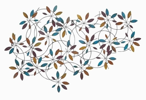 Decorative Classic Metal Leaf Wall Decor with Modern Style Brand Woodland