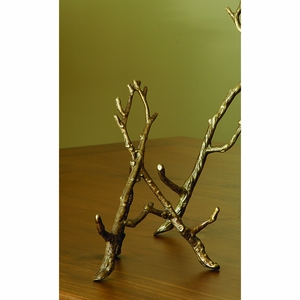 Decorative Small Branched Easel in Brass by SPI-HOME