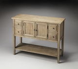 Deft and Lovely Hennepin Urban Gray Sideboard by Butler Specialty