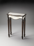 Delightful Cheshire Mirrored Pecan Console Table by Butler Specialty