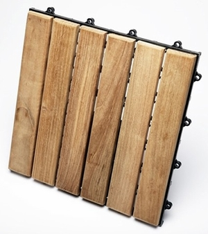 Delightful Le click Classic Box of 10 Tiles Natural by Infinita
