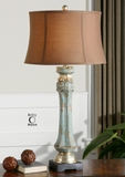 Deniz Blue Buffet Lamp Makes Your Home Decor Trendy Brand Uttermost