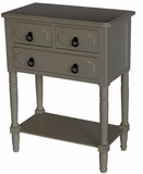 Derby's Attractive Simplicity 3 Drawer Chest Buttermilk by 4D Concepts