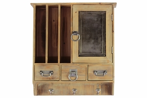 Derby's Spacious Sectioned Smart Wooden Cabinet