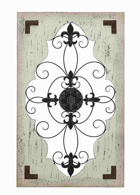 Derby Wall D'cor Beauteous Elegantly Etched Creation Brand Benzara