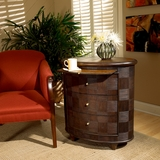 "Designer's Edge Oval Side Chest 30""W by Butler Specialty"