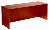 "Desk Shell, 71""W X 36""D, Cherry by Boss Chair"
