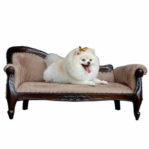 Dilbeek Pet Sofa, Adorable And Charismatically Carved Creation by D-Art