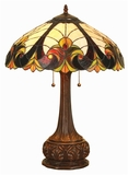 Dimmed but Lovely Victorian Table Lamp by Chloe Lighting