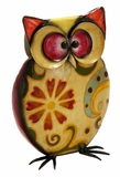 Distinct Colored Owl Decor by Woodland Import