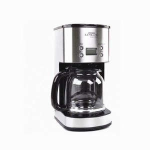 12 Cup Stainless Steel Coffee Maker Programmable With Digital Lcd