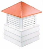 "Dover Cupola 84"" x 119"" - Vinyl and Copper by Good Directions"
