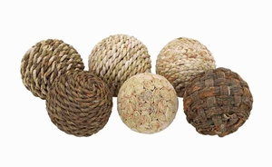 Dried Decorative Ball with Attractive Design (Set of 6) Brand Woodland