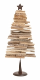 "Driftwood Metal Christmas Tree (Large) 12""W, 28""H by Woodland Import"