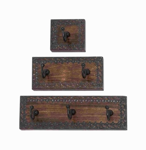 Dublin Exceptionally Classic Wall Hook Set Brand Benzara