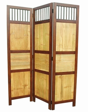 Duisburg Three-Panel Screen Room Divider, Royal Design Stupendous Creation by D-Art